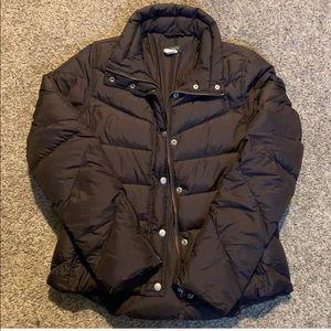 Cute J. CREW brown puffer coat ✨💕